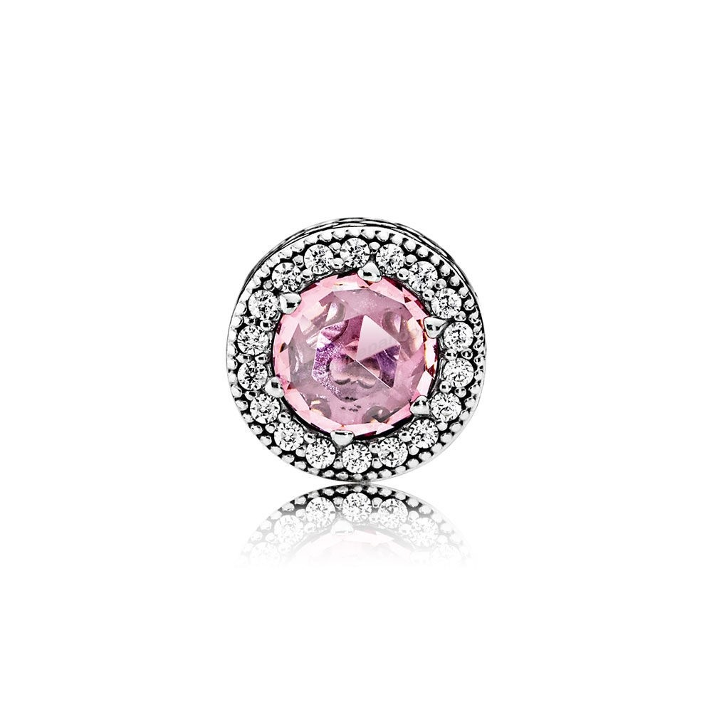 Pas Cher PANDORA ESSENCE APPRECIATION Charme Pink Clear CZ En Ligne