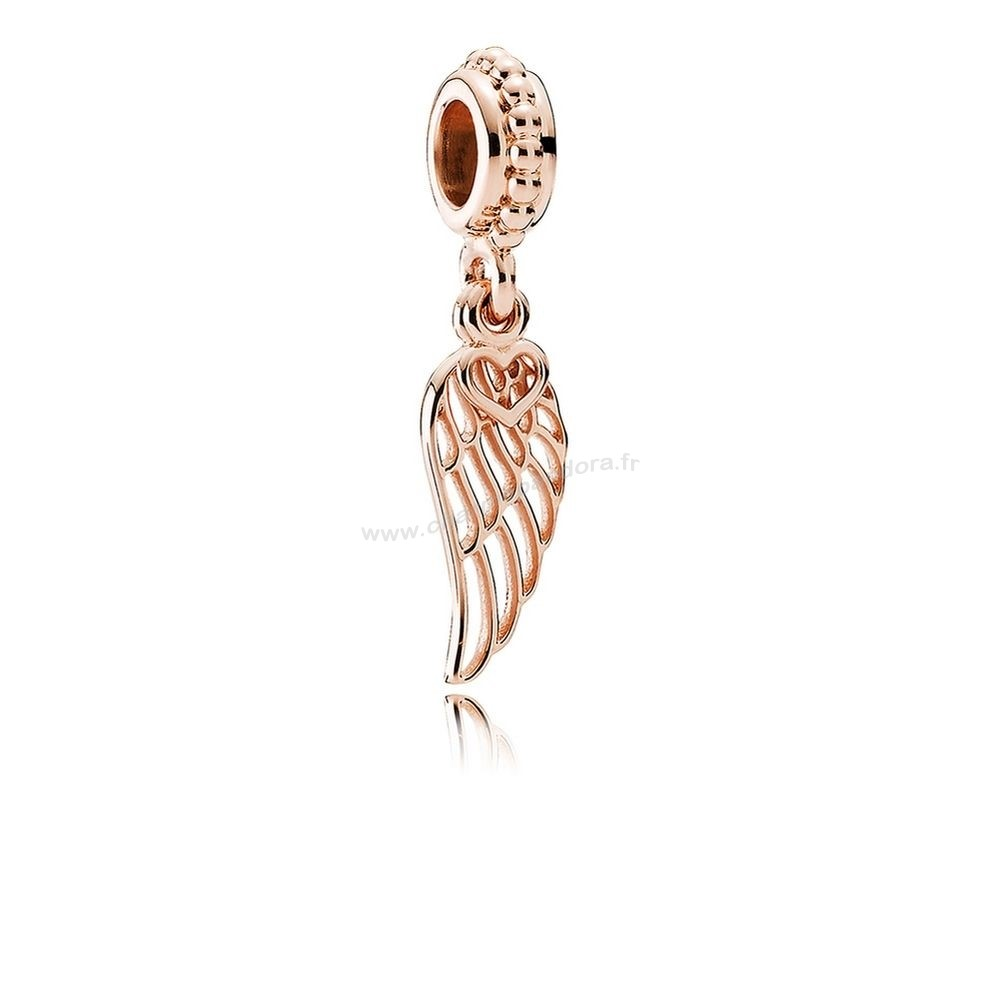Pas Cher PANDORA Inspirational Charms Amour Guidance Dangle Charm PANDORA Rose En Ligne