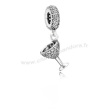 Pas Cher PANDORA Passions Charms Chic Charme Nuit Dangle Charm Clear CZ En Ligne